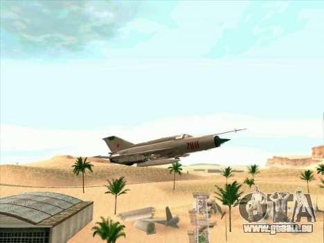 MiG 21 für GTA San Andreas