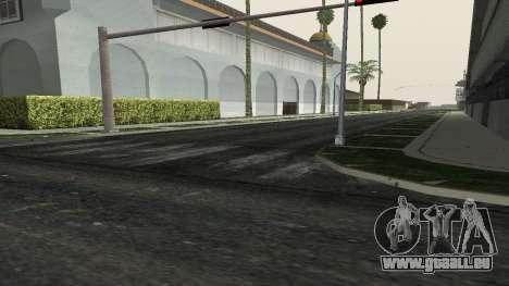 Des routes et de la végétation de Los Santos pour GTA San Andreas quatrième écran