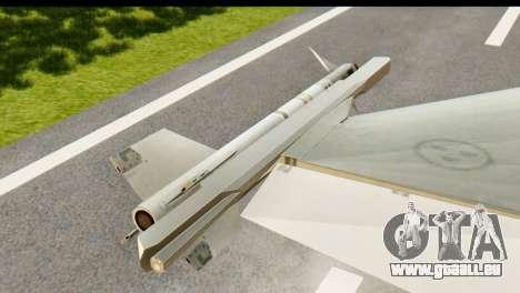 Saab Gripen NG für GTA San Andreas rechten Ansicht
