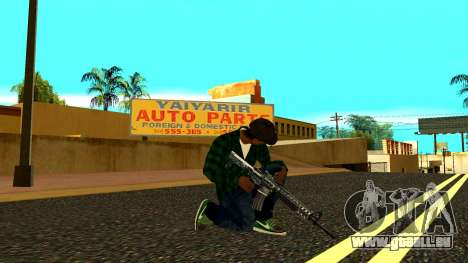 Weapon Pack für GTA San Andreas her Screenshot