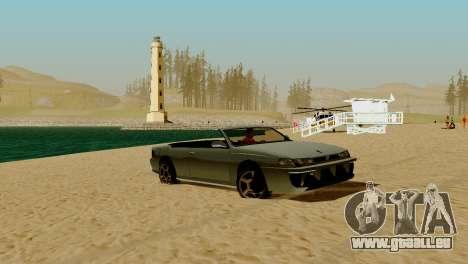 DLC garage de GTA en ligne de la marque de trans pour GTA San Andreas onzième écran