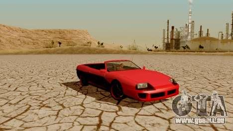 DLC garage de GTA en ligne de la marque de trans pour GTA San Andreas douzième écran