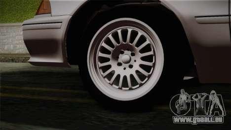 Toyota Mark GX81 pour GTA San Andreas sur la vue arrière gauche