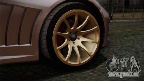 GTA 5 Bravado Banshee SA Mobile pour GTA San Andreas sur la vue arrière gauche