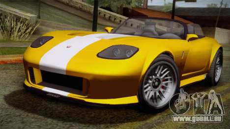GTA 5 Invetero Coquette SA Mobile für GTA San Andreas linke Ansicht