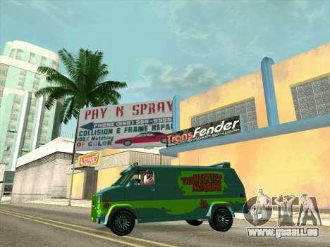 GMC The A-Team Van pour GTA San Andreas roue