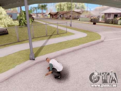 Réel des animations à partir de GTA 5 pour GTA San Andreas deuxième écran