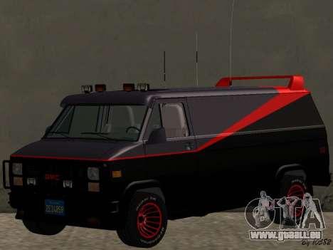 GMC The A-Team Van für GTA San Andreas