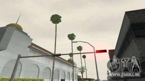 Des routes et de la végétation de Los Santos pour GTA San Andreas cinquième écran