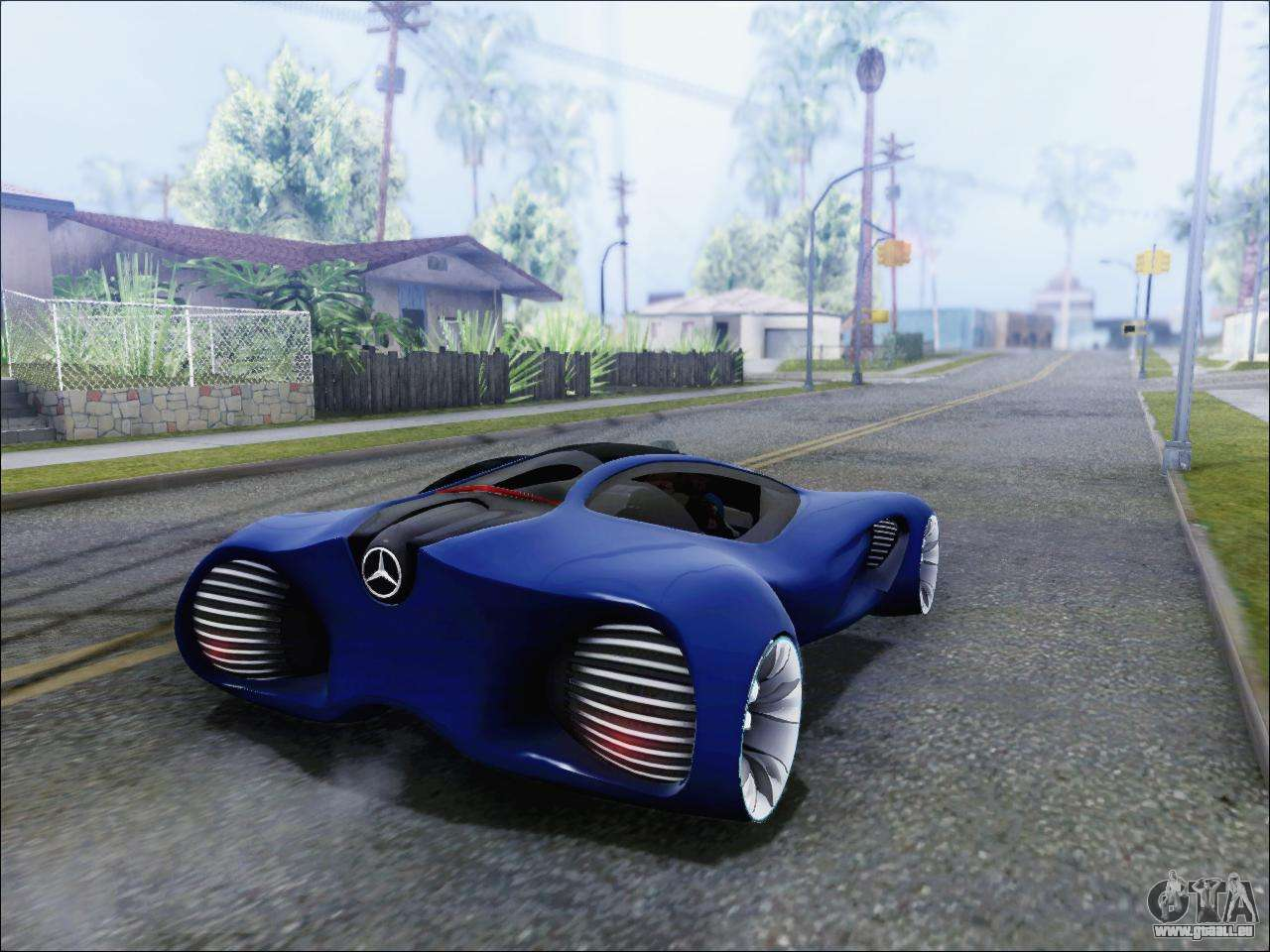 Mercedes-Benz Biome pour GTA San Andreas