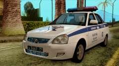 Lada Priora 2170 Police DPS Moscou