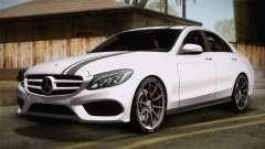 Mercedes-Benz C250 AMG Edition 2014 EU Plate