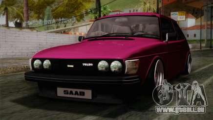 Saab 99 Turbo Stance für GTA San Andreas
