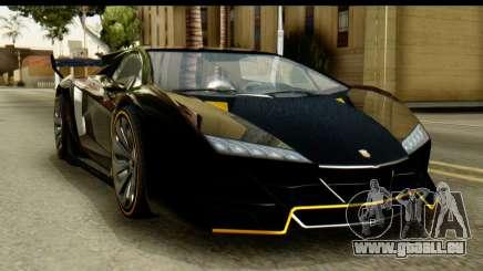 GTA 5 Pegassi Zentorno v2 SA Mobile pour GTA San Andreas