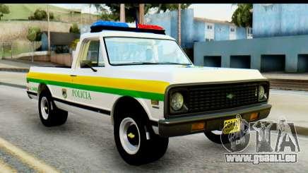 Chevrolet C10 Patrulla pour GTA San Andreas