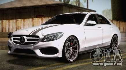 Mercedes-Benz C250 AMG Edition 2014 EU Plate für GTA San Andreas