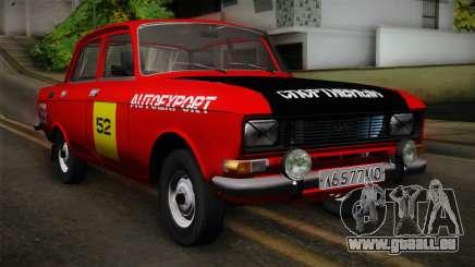 АЗЛК 412 URSS Autosport pour GTA San Andreas