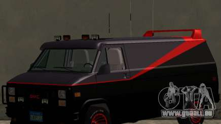 GMC The A-Team Van für GTA San Andreas