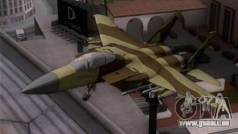 F-15C Camouflage Pack für GTA San Andreas
