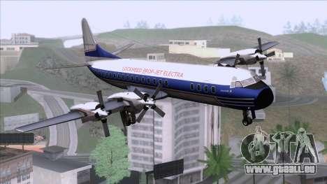 Lockheed L-188 Electra für GTA San Andreas