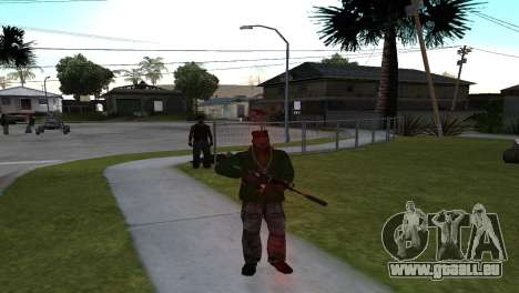 M4 Cyrex из CS:GO pour GTA San Andreas deuxième écran