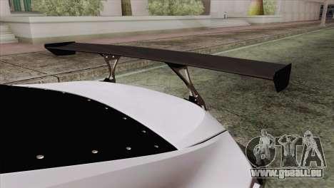Subaru BRZ pour GTA San Andreas vue arrière
