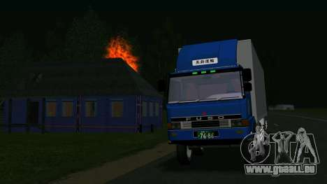 Mitsubishi Fuso The Great für GTA San Andreas linke Ansicht