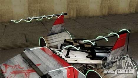 GTA 5 Space Docker IVF pour GTA San Andreas vue de droite
