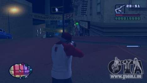 Ralentir le temps pendant la prise de vue dans G pour GTA San Andreas