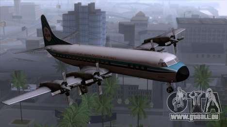 L-188 Electra KLM v1 pour GTA San Andreas