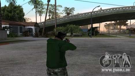 M4 Cyrex из CS:GO pour GTA San Andreas troisième écran