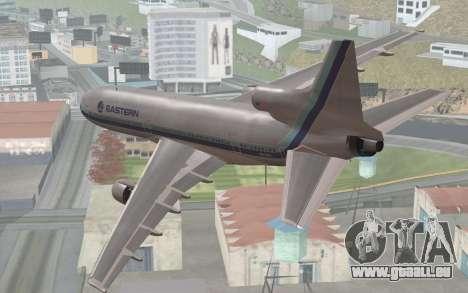 Lookheed L-1011 Eastern Als pour GTA San Andreas laissé vue
