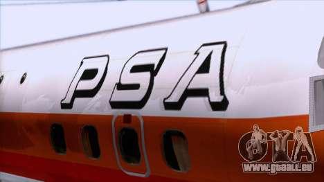 L-188 Electra PSA für GTA San Andreas Rückansicht