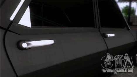 Dacia 1300 GFB Stanced für GTA San Andreas Rückansicht