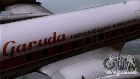 L-188 Electra Garuda Indonesia pour GTA San Andreas vue de droite