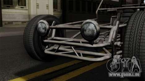 GTA 5 Space Docker SA Mobile pour GTA San Andreas vue arrière