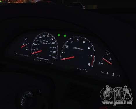Nissan Silvia S13 pour GTA San Andreas vue intérieure