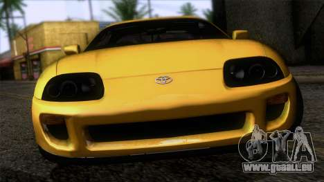 Toyota Supra S-Spec (JZA80) 1993 ECO APT pour GTA San Andreas