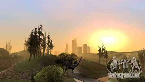 La possibilité de jouer pour les oiseaux v2 pour GTA San Andreas septième écran