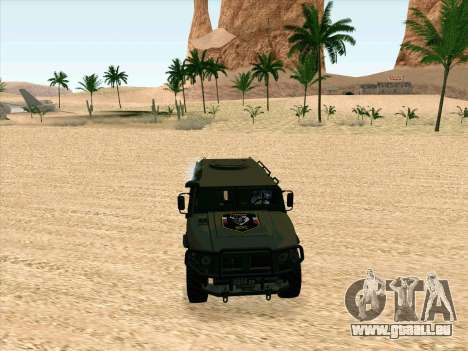 GAZ 2975 für GTA San Andreas linke Ansicht