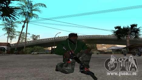 M4 Cyrex из CS:GO pour GTA San Andreas