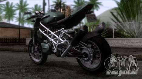 Principe Lectro pour GTA San Andreas laissé vue