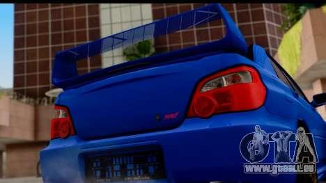 Subaru Impreza WRX STI 2004 für GTA San Andreas rechten Ansicht