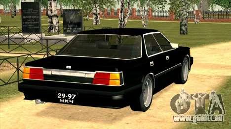 Nissan Gloria Zenki (Y30) pour GTA San Andreas sur la vue arrière gauche