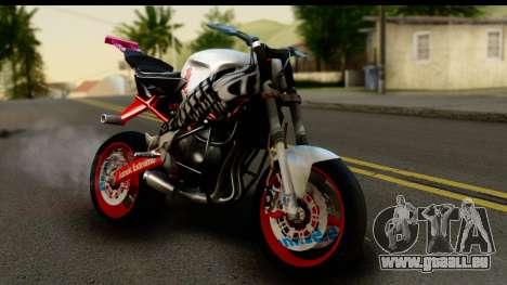 Kawasaki Ninja ZX6R v3.1 Fixed für GTA San Andreas