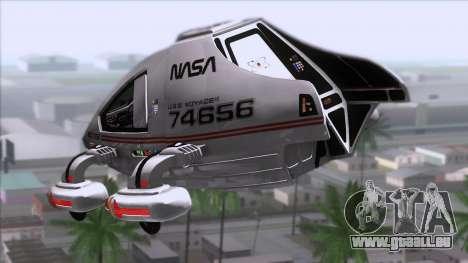 Shuttle v2 Mod 2 für GTA San Andreas linke Ansicht