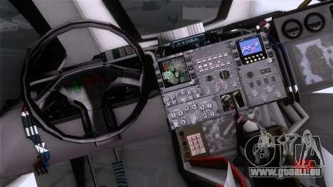 Shuttle v2 Mod 2 für GTA San Andreas rechten Ansicht