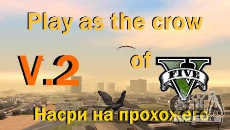 La possibilité de jouer pour les oiseaux v2 pour GTA San Andreas