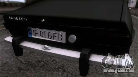 Dacia 1300 GFB Stanced pour GTA San Andreas vue de droite