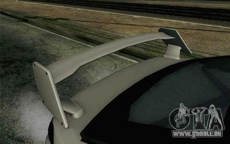 GTA 5 Karin Kuruma v2 Armored SA Mobile pour GTA San Andreas vue de droite